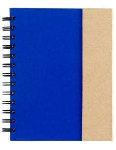 Bloknotas su lipniais lapeliais ir rašikliu Spiral
