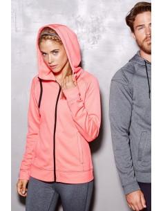 Moteriški sportiniai džemperiai su gobtuvu