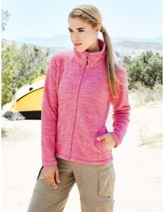 Šilti moteriški sportiniai džemperiai su užtrauktuku