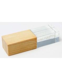USB atmintinės Crystal Bamboo