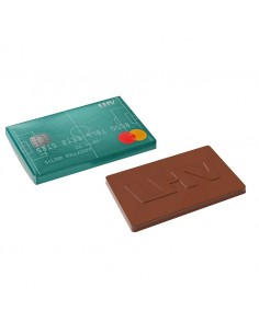 Šokoladinė vizitinė kortelė
