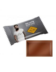 Stačiakampiai šokoladukai mini flow pack