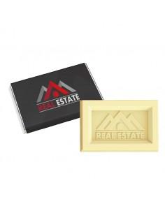 Stačiakampiai šokoladukai Mini Logo