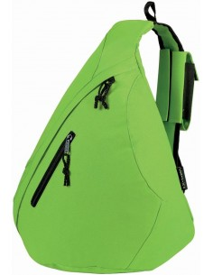 Triangle City Bag green