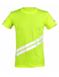 Marškinėliai su atšvaitinėmis juostomis Double