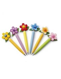 Mediniai tušinukai Gėlė