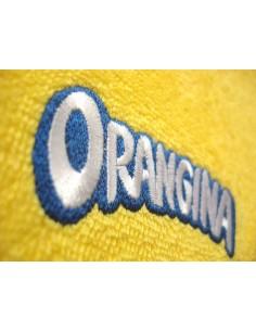 Rankšluosčiai su siuvinėtu logotipu