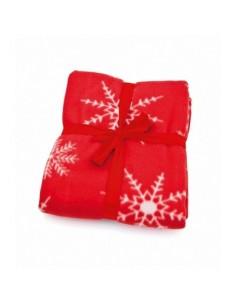 Kalėdinio dizaino pledas