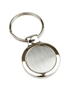 Metalinis raktų pakabukas Round