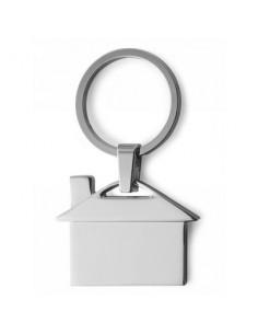 Metalinis raktų pakabukas House