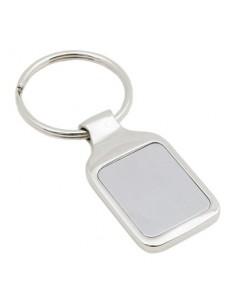 Metalinis raktų pakabukas Rectangular