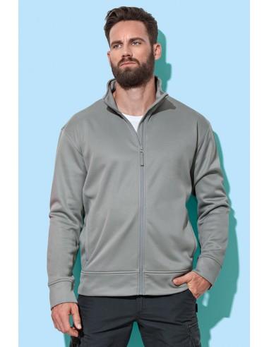Vyriški džemperiai fleece bonded su užtrauktuku