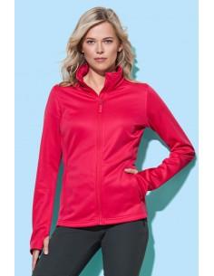 Moteriški džemperiai fleece bonded su užtrauktuku