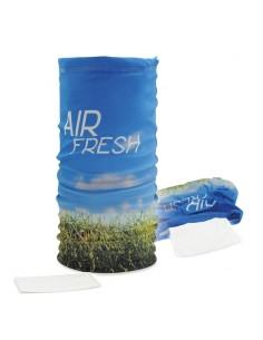 Multifunkcinis šalikas su apsauga nuo oro užterštumo