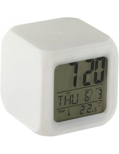 Šviečiantis laikrodis-žadintuvas