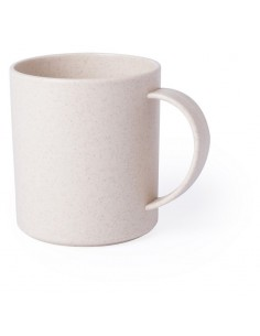 Plastikinis puodelis su bambuko pluoštu 320ml