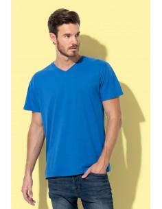 Vyriški marškinėliai V formos kaklu