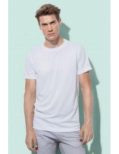 Vyriški sportiniai marškinėliai siaura apykakle