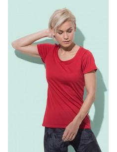 Moteriški sportiniai marškinėliai Cotton