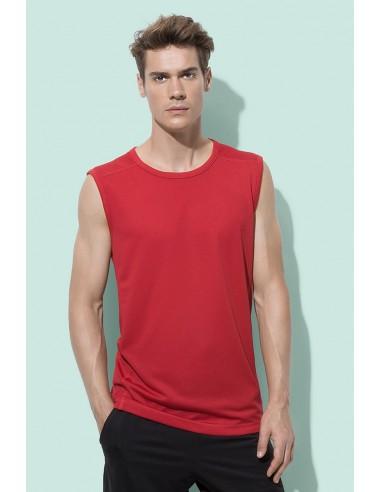 Vyriški sportiniai marškinėliai be rankovių