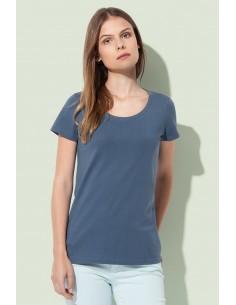 Moteriški organiniai marškinėliai