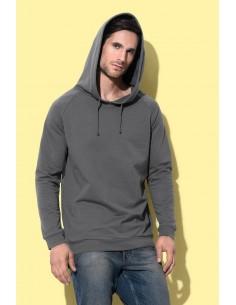 Universalūs medvilniniai džemperiai su gobtuvu