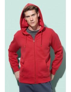 Vyriški džemperiai su užtrauktuku ir gobtuvu