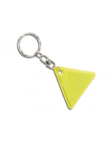 Atšvaitas raktų pakabukas trikampio formos
