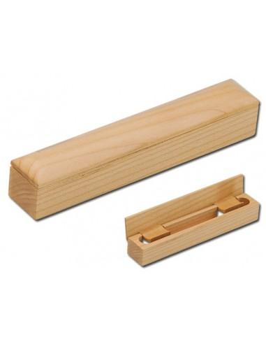 Mediniai dėklai rašikliams PILAR