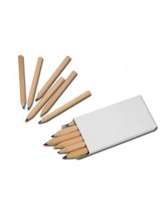 Trumpi mediniai pieštukai GOGH