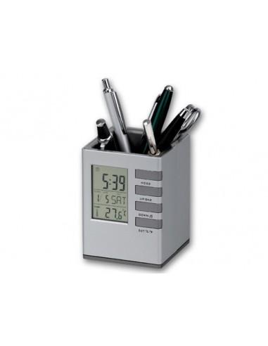 Rašiklių stendas su laikrodžiu FABRIZIO