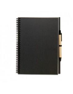 Užrašų knygutė BLOQUERO PLIUS su rašikliu