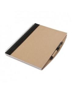 Ekologiška užrašų knygutė su rašikliu Papiros