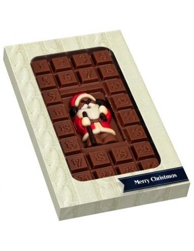 Šokolado plytelė - advento kalendorius