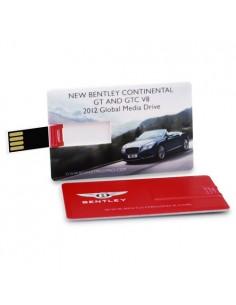 USB atmintinė kortelės formos