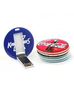 USB atmintinė apskritimo formos