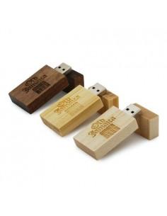 Medinės USB atmintinės Woodland 1