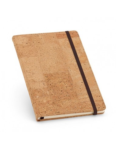 Užrašų knygelės kamštiniu viršeliu