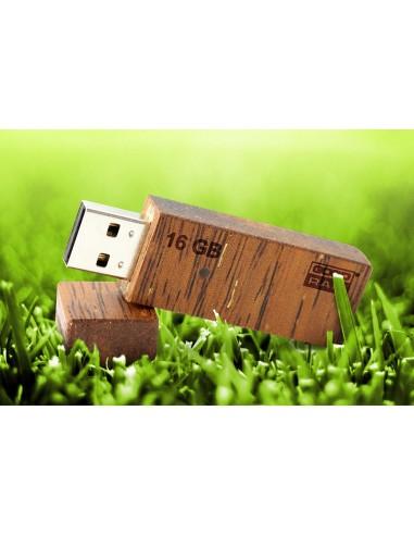 Medinės USB atmintinės Eko