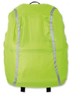 Sulankstomas apdangalas krepšiams, kuprinėms su šviesą atspindinčiais elementais