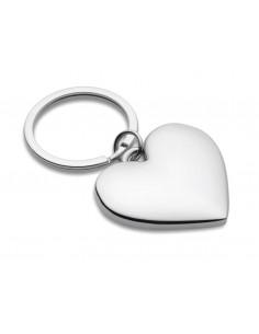 Metalinis raktų pakabukas širdelė